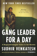 Gang Leader for a Day Book