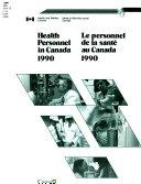 Personnel de la Santé Au Canada