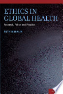 Ethics in Global Health