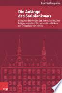 Die Anfänge des Sozinianismus