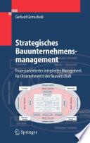 Strategisches Bauunternehmensmanagement
