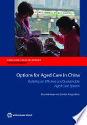 Options For Aged Care In China