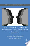 Policy Debates in Comparative  International  and Development Education