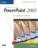New Perspectives on Microsoft PowerPoint 2003  Comprehensive  Coursecard Edition