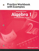 Algebra 1  Grades 8 12 Practice Workbook With Examples