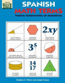 Spanish Math Terms  A Bilingual  Illustrated Guide