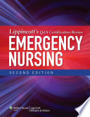 Lippincott s Q A Certification Review  Emergency Nursing