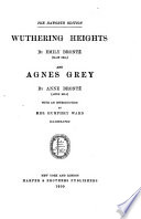 The Life and Works of the Sisters Bront    Wuthering Heights