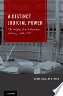 A Distinct Judicial Power