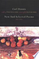 New and Selected Poems 1974 2004