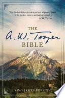 A W  Tozer Bible KJV