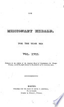 Missionary Herald
