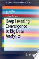 Deep Learning Convergence To Big Data Analytics