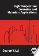 High Temperature Corrosion and Materials Applications