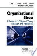 Organizational Stress