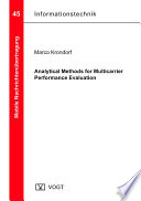 Analytical Methods for Multicarrier Performance Evaluation