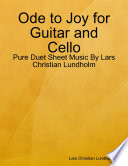 Ode to Joy for Guitar and Cello - Pure Duet Sheet Music By Lars Christian Lundholm