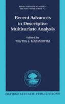recent advances in descriptive multivariate analysis