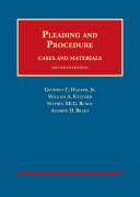 Cases and Materials on Pleading and Procedure