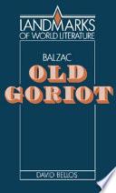 Balzac  Old Goriot