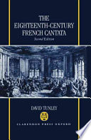 The Eighteenth Century French Cantata
