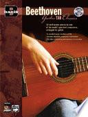 Basix Beethoven Guitar Tab Classics  Book   CD