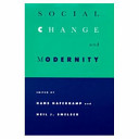 Social Change and Modernity
