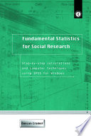 Fundamental Statistics for Social Research