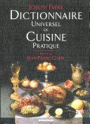 illustration Dictionnaire universel de cuisine pratique