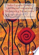 Italia Espa  a Europa Literaturas comparadas  tradiciones y traducciones vol  II