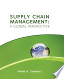 Supply Chain Management  A Global Perspective