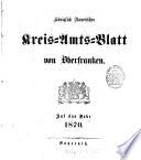 Königlich-Bayerisches Kreis-Amtsblatt von Oberfranken