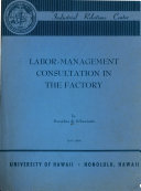 labor management consultation in the factory
