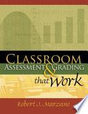 Classroom Assessment   Grading that Work