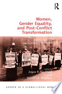 Women  Gender Equality  and Post Conflict Transformation