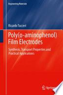 Poly o aminophenol  Film Electrodes
