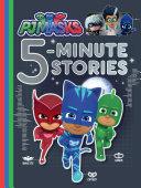 PJ Masks 5-Minute Stories Book