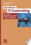 Grundkurs IT Controlling