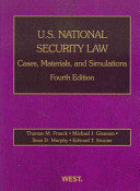 U S  National Security Law