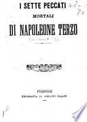 I Sette Peccati Mortali di Napoleone Terzo   By D  R  B  Berlinghieri