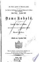 Dame Kobold. Komische Oper in 3 Akten. Frei nach Calderon's gleichnamigem Lustspiel. Musik von Joachim Raff