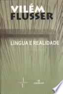 Língua e realidade