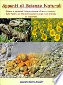 Appunti di Scienze Naturali   Vademecum del Naturalista
