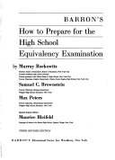 Barron s how to prepare for the high school equivalency examination