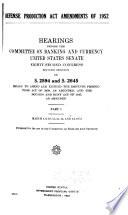 Defense Production Act Amendments of 1952