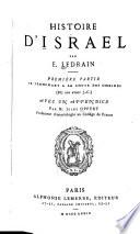 Histoire d'Israel: pte. se terminant a la chute des Omrides (887 ans avant J.C.)
