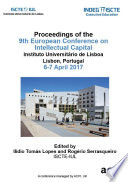 ECIC 2017 - 9th European Conference on Intellectual Capital