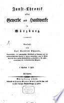 Zunft-Chronik aller Gewerbe ... in Würzburg