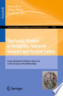 Stochastic Models In Reliability Network Security And System Safety