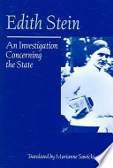 An Investigation Concerning the State